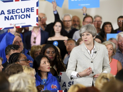 From landslide for May to upset defeat - scenarios for UK election
