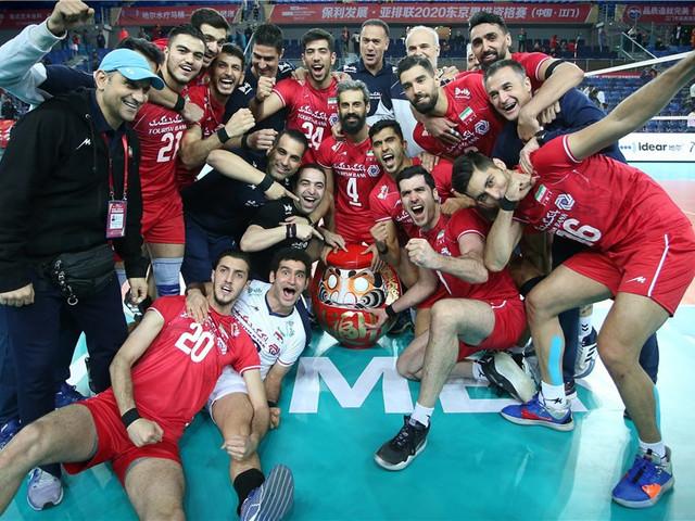 Iran's men and South Korea's women book Tokyo 2020 volleyball spots