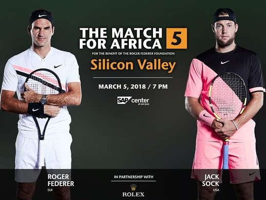 Roger Federer And Bill Gates To Hit The Court For Charity Tennis