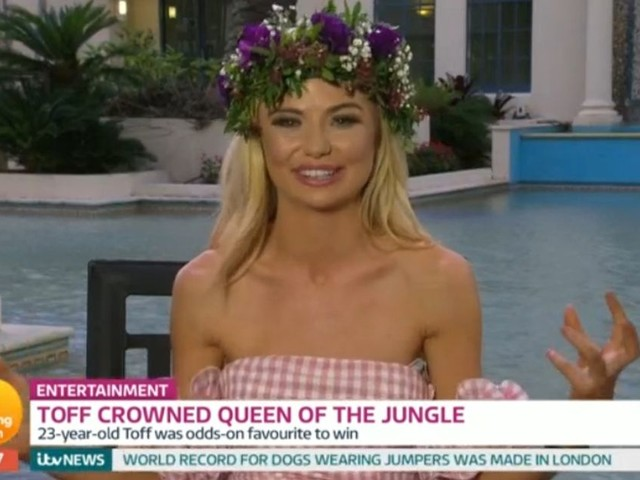 I'm A Celeb winner Toff reveals she didn't pay her RENT during jungle stint as TV bosses fight over reality star
