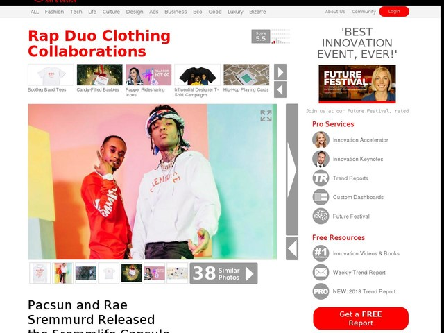 Rap Duo Clothing Collaborations - Pacsun and Rae Sremmurd Released the Sremmlife Capsule Collection (TrendHunter.com)
