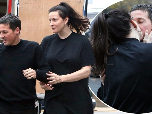Liv Tyler and fiancé Dave Gardner pack on PDA in London