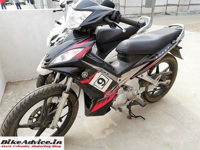 Yamaha Spark 135 spotted at Madras Motor Race Track