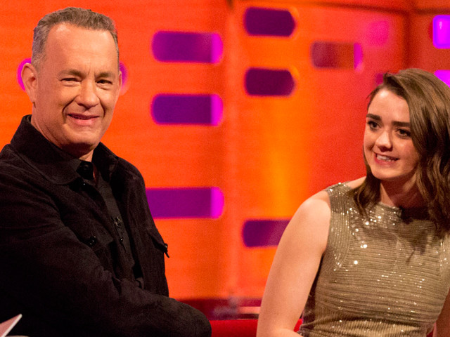 Maisie Williams Adds Tom Hanks' Name to Arya's 'Kill List'