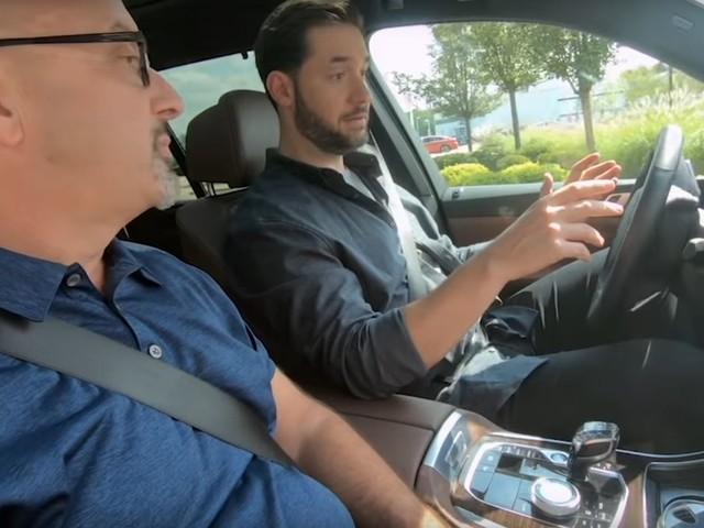 Video: Reddit Co-Founder Tests BMW Autonomous Driving Tech