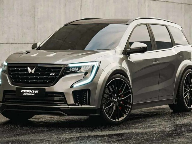 Mahindra XUV700 GT Concept Rendered, Looks Spicy