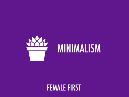 Female First's top minimalism videos of the week