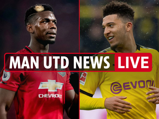 7pm Man Utd news LIVE: Sancho 'unofficially confirms Old Trafford transfer', Pogba and Lingard shared message