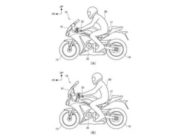Honda files patent for adjustable riding position tech