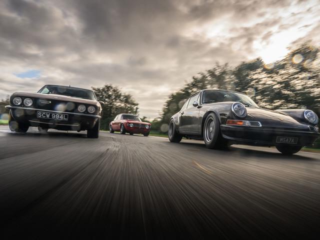 All mod cons: driving Porsche, Jensen and Alfa Romeo restomods