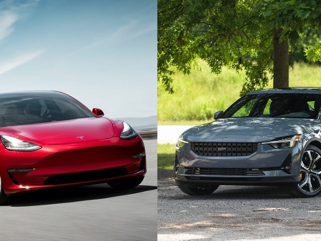 The Tesla Model 3 might have the new Polestar 2 EV beat on paper, but the Polestar won me over — here's why