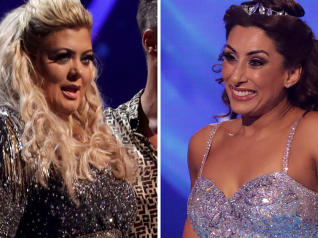 Dancing On Ice's Gemma Collins Apologised To Eliminated Contestant Saira Khan: 'It Should've Been Me'