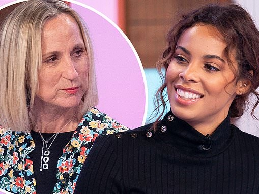 Rochelle Humes steps in for Carol McGiffin on Loose Women at the last minute