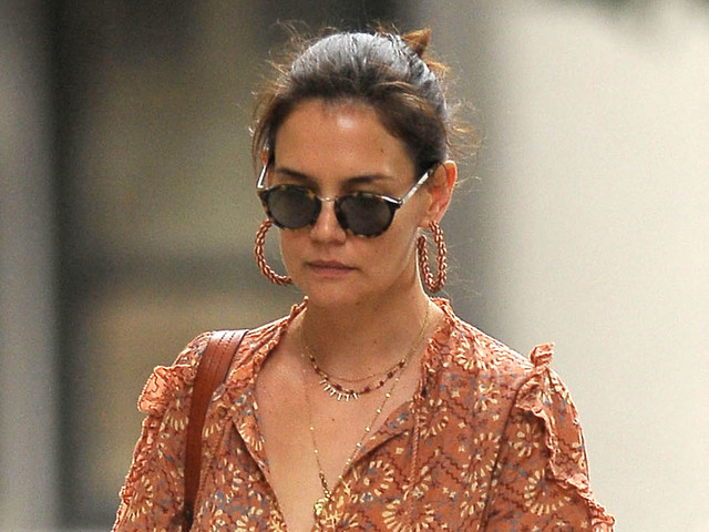 Katie Holmes Spends Her Afternoon Running Errands in NYC