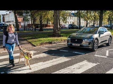 Jaguar I-Pace pedestrian alert system gets charity approval