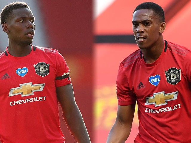 Pogba and Martial to start - Man United predicted line up vs Brighton