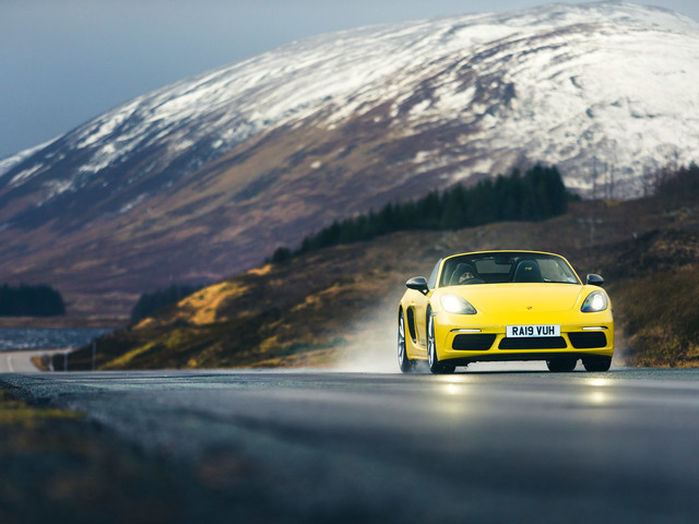 How a Porsche Boxster took on Storm Brendan and the NC500