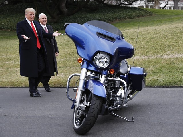 Harley-Davidson's profit plunges as Trump's tariffs bite (HOG)