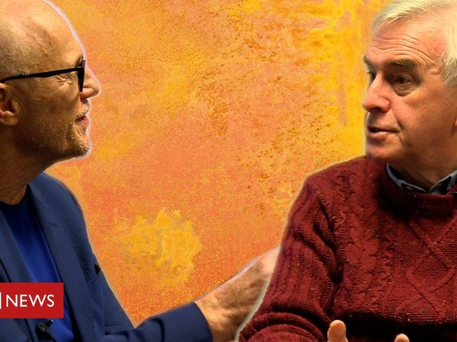 Billionaire John Caudwell goes head-to-head with Labour's John McDonnell