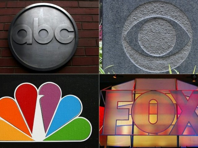 Once kings of TV, US broadcast networks face reckoning