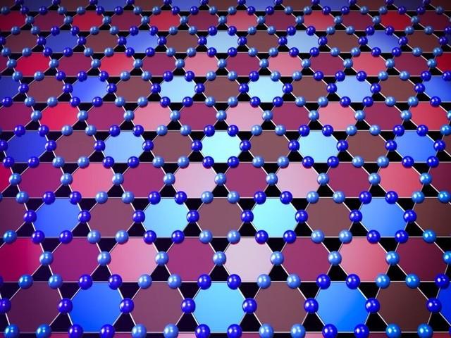 Team discovers unexpected quantum behavior in kagome lattice