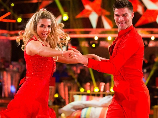 Bury-born soap star Gemma Atkinson is through to the grand final of Strictly Come Dancing
