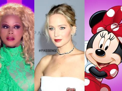 What Do RuPaul, Jennifer Lawrence, & Minnie Mouse Have In Common??