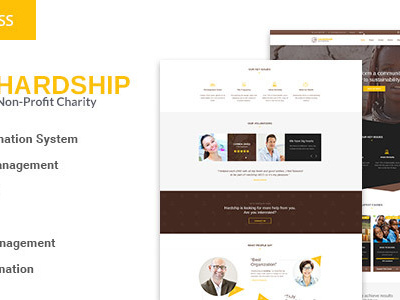 HardShip - Charity/Fundraising WordPress Theme (Charity)