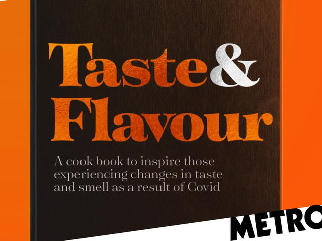 Free cookbook launches to help those who've had Covid taste their food again