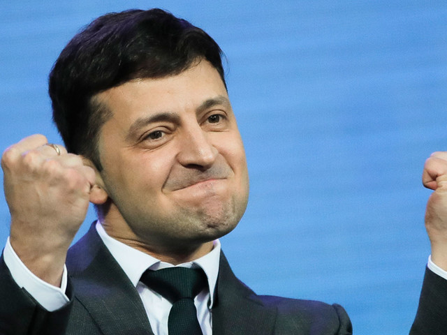 Volodymyr Zelenskiy, comedian who played president on TV, elected president of Ukraine: Exit poll