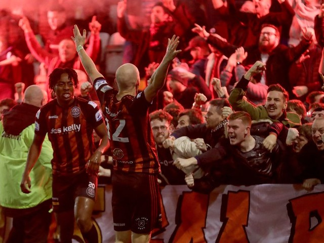 Late Georgie Kelly goal sends Bohemians through to FAI Cup final for first time since 2008