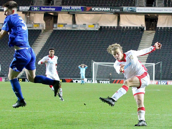 FA Youth Cup: MK Dons Under-18s Prospect Tommy Hope Scores Amazing Zidane-Style Volley To Seal Dramatic Win Over Cardiff (Video)