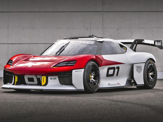 Porsche Mission R: A taste of motorsport's bold electric future