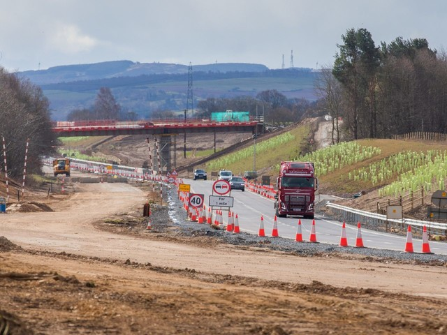 Transport secretary reaffirms pledge to dual A9 and A96 but does not rule out delays due to lockdown