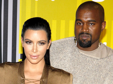 Kim Kardashian & Ex Kanye West Twin In All Red Outfits As She Supports Him At 'Donda' Premiere
