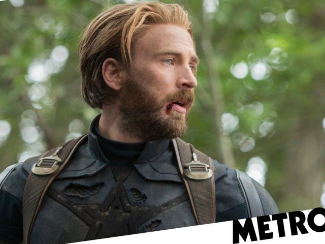 First glimpse of Chris Evans in Captain America's new suit for Avengers 4