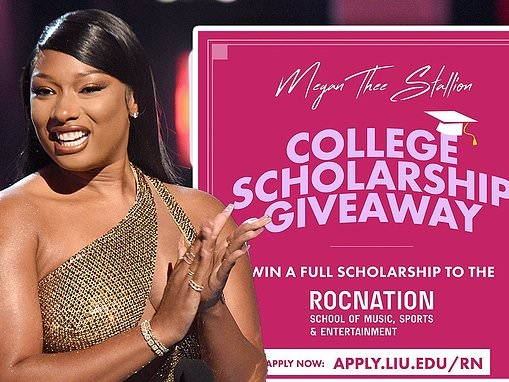 Megan Thee Stallion to fund a full ride scholarship at Long Island University's Roc Nation school