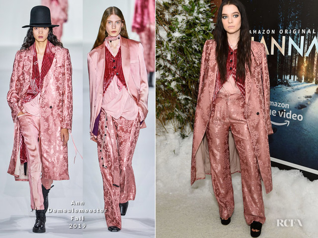 Esme Creed-Miles In Ann Demeulemeester – 'Hanna' New York Premiere