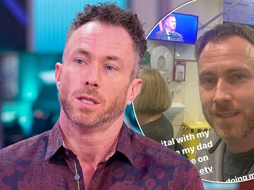 James Jordan reveals his father had a seizure while on FaceTime to him