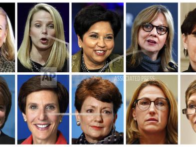 Women CEOs earned more last year, but few were in top job