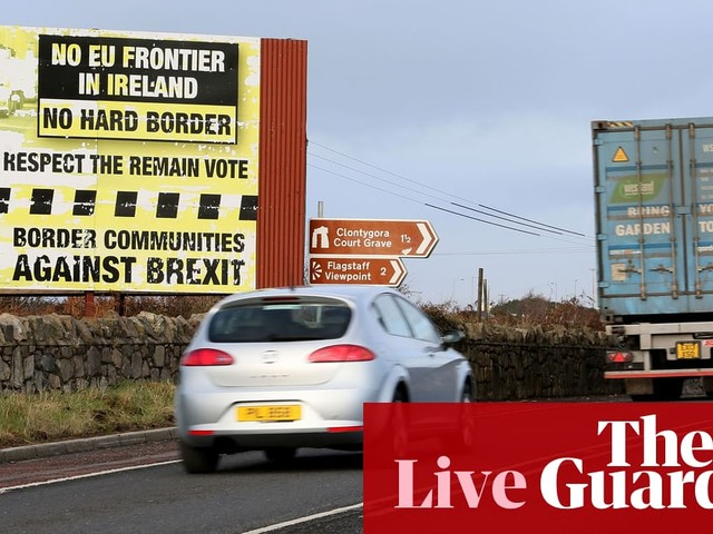 Brexit: Northern Ireland voters sure hard border would provoke violence, report says - Politics live