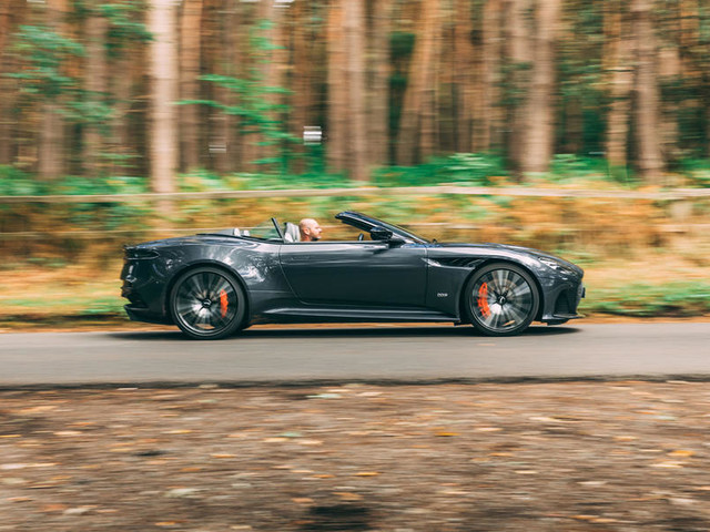 Aston Martin DBS Volante 2019 UK review