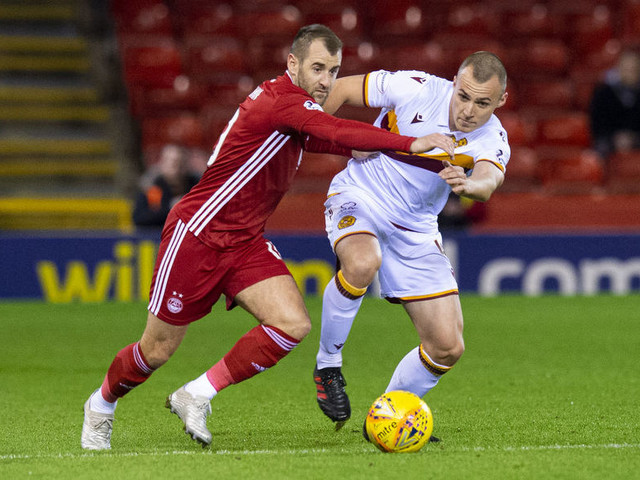 Aberdeen suffer blow in race for third with 1-0 loss to Motherwell