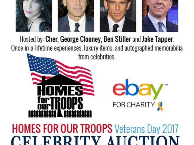 Homes For Our Troops Veterans Day Celebrity Auction Raises Funds For Post 9/11 Injured Veterans