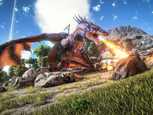 Ark: Survival Evolved brings dinosaur survival to your pockets this spring