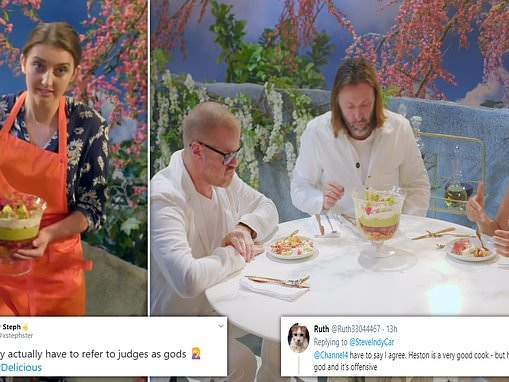 Viewers cringe at Heston Blumenthal's new show Crazy Delicious