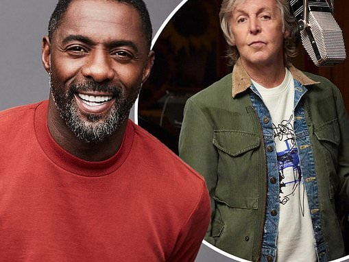 Idris Elba is 'honoured' to interview Paul McCartney and is a 'massive fan'