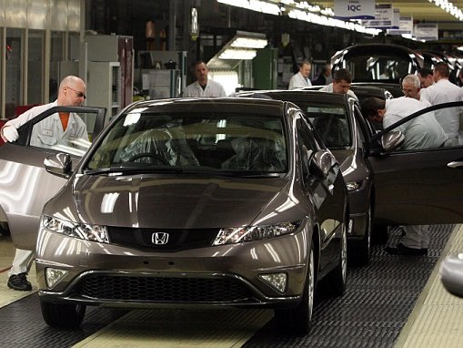DAILY BRIEFING: UK motor industry production up