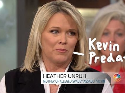 Kevin Spacey Accuser's Mother Says She's Aware Of EIGHT More Alleged Victims