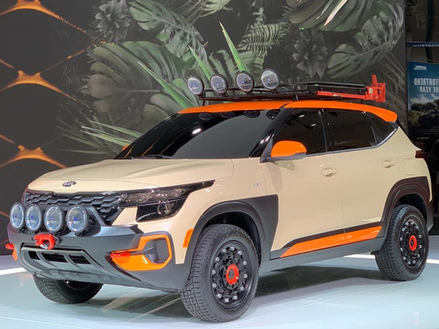 Kia Seltos AWD showcased at LA Auto show
